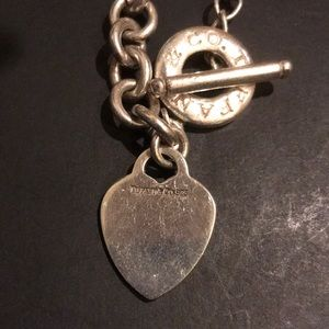 Authentic Tiffany &Co. Heavy Double Bracelet
